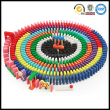 Domino Racing Game Set for Kids with 500pcs Building Blocks (Assorted Color)