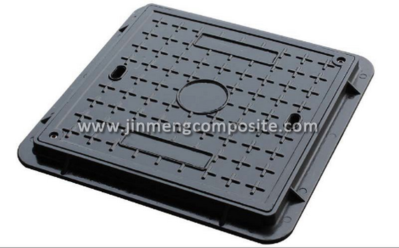 EN124 D400 telecom manhole cover smc watertight manhole cover for wholesales