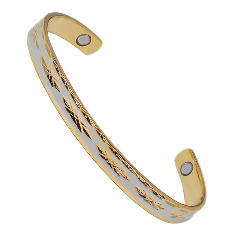 2014 New Style Therapy Magnetic India Copper Bangle