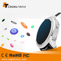 Newest GPS 3G Smart Watch Android 4.4 wearable devices Smartwatch k21 SUPPORT Google play store whatsapp
