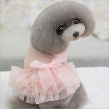 New design pet wedding dresses pet dog clothes