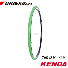 Wholesale green color road bikes 700 23c tires