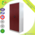 Bedroom Furniture Double Door Wardrobe Design Red Steel Clothes Almirah