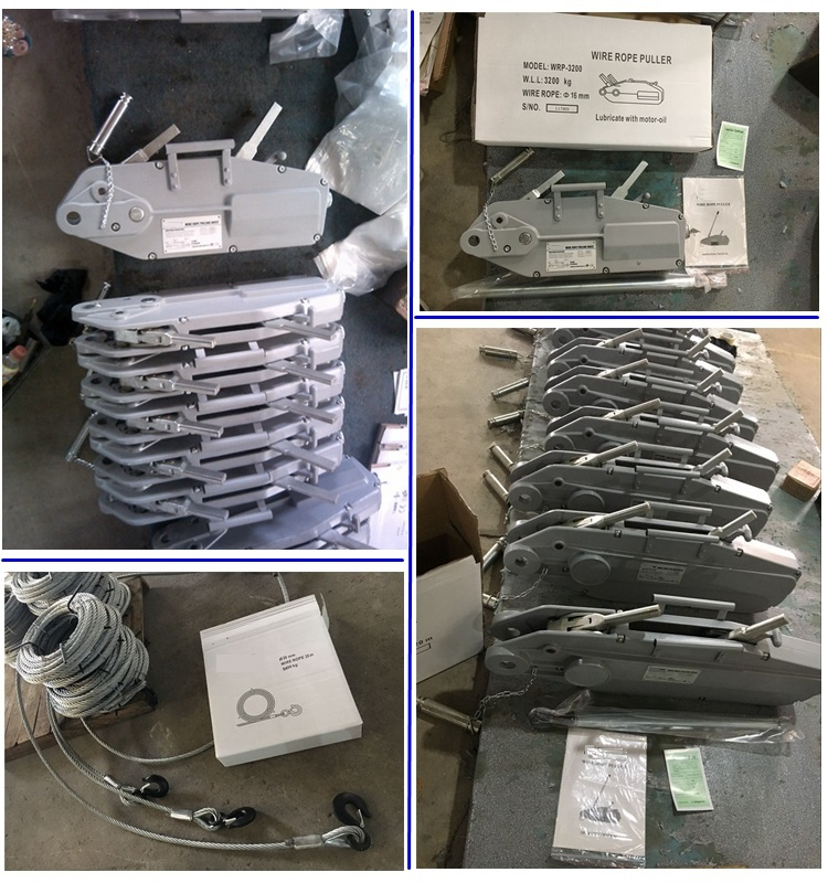 ALLMAN wire rope winch with 20m galvanized cable 800kg 1600kg 3200kg 5400kg