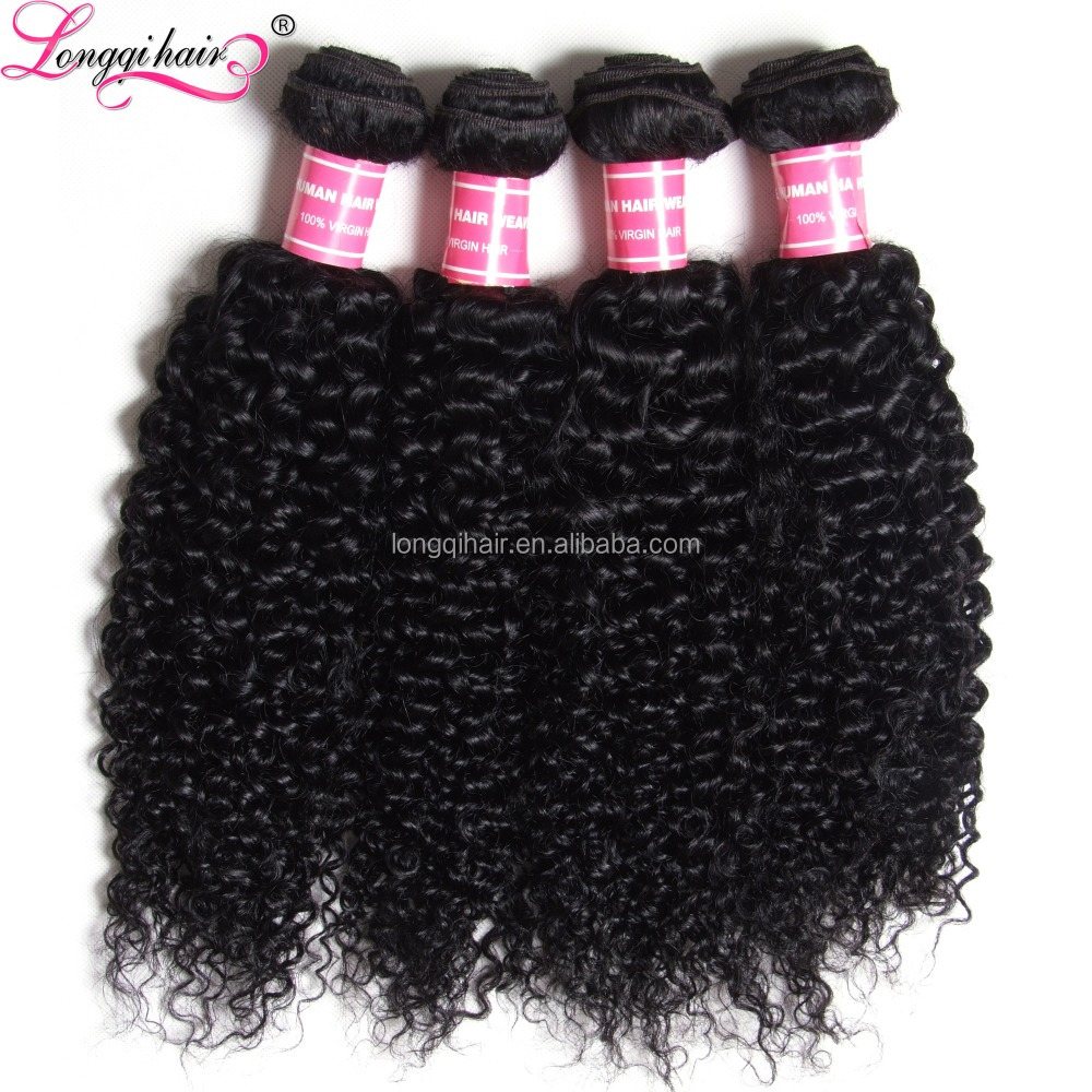 High Quality Unprocessed Brazilian Virgin Hair Wholesale Free Sample Jerry Curl Hairstyle For Black Woman