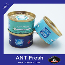 NEW PRODUCT CAR PERFUME TIN CAN Organic SpillProof Air Freshener