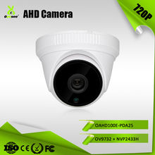 OAHD100E-PDA25 720P 1Megapixel Board Lens With IR-CUT Filter 6Pcs IR Leds 25m IR distance AHD cctv camera 1000tvl