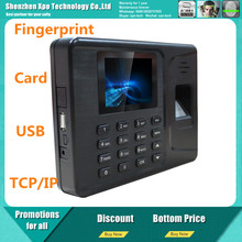 cheap biometric fingerprint time attendance system