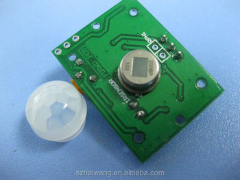 HW8002 D203S PIR sensor module for long distance