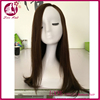 Aliexpress new product brazilian 22inch 5x5 silk base full lace human hair wig straight #4#6 mixed color jewish wig kosher wigs