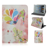 Magnificent Shoe Case For Apple iPad, Flip Folio Stand Cover, Tablet Case Gift For Girl,Factory Wholesale Direct Sale