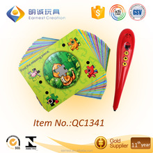 Educational Learning smart pen/ Reading pen for kid/Talking pen with cards