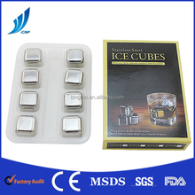 High quality Stainless Steel Whisky Stone ice cube ice cake ice block