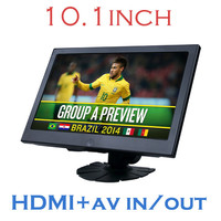 DS-1018 10.1inch monitor with HDMI input/AV IN/FM transmitter,Mobile charge
