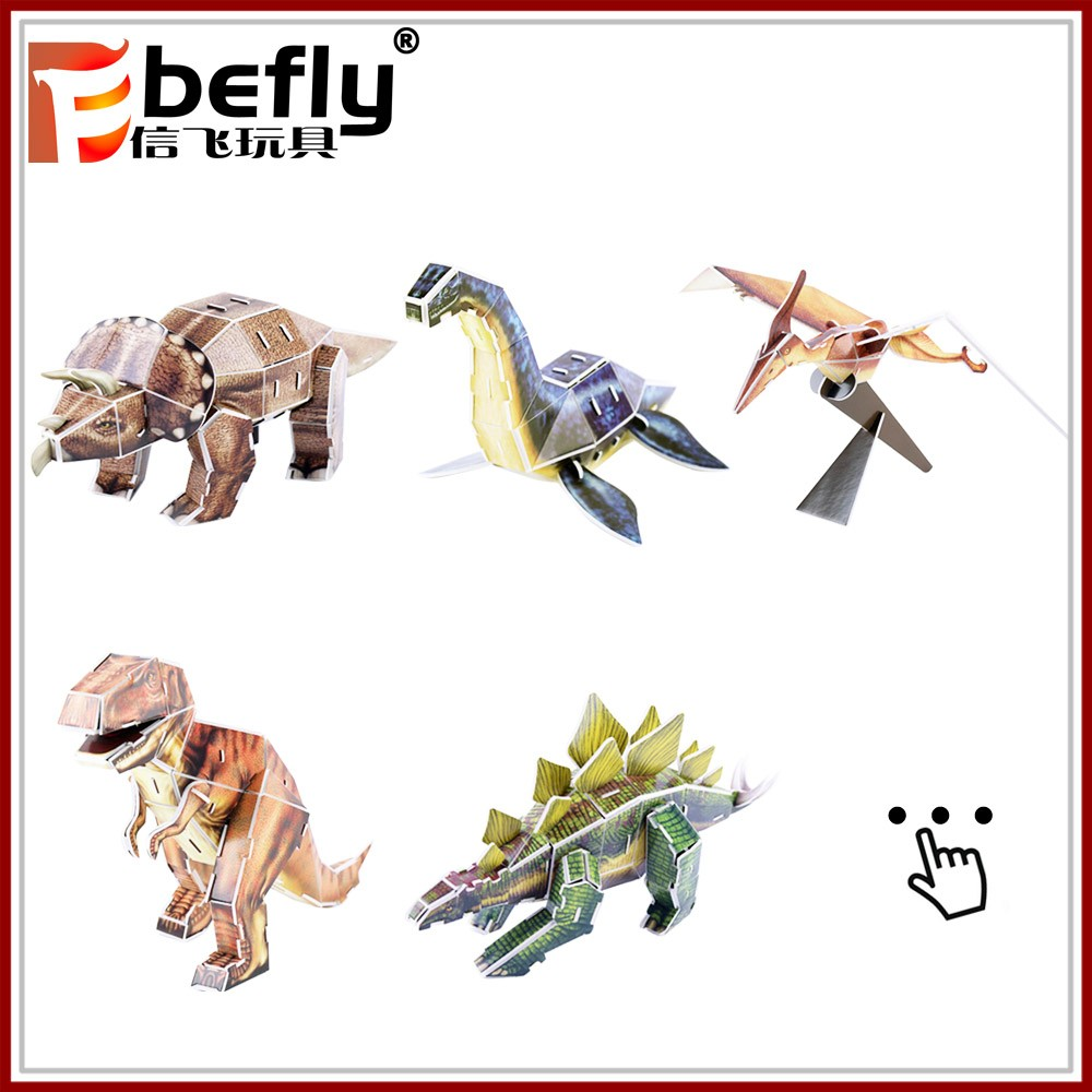 Many kinds mixed packaged plastic dinosaur toy for kids 2017