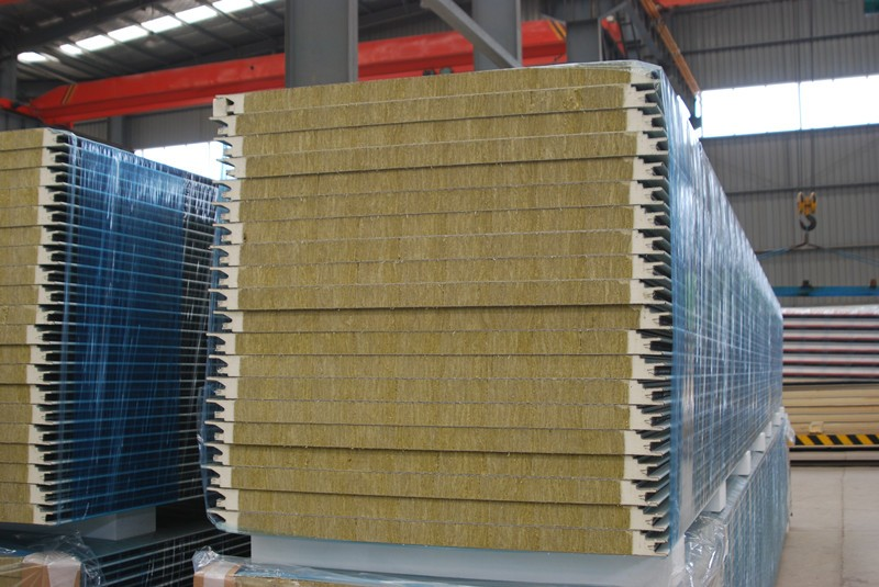 Mineral Wool Sandwich Panel Insulation Rockwool Insulation