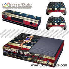 unique design for the crazy young hot selling skin cover for xbox one console controller gstm0159