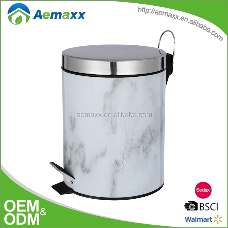 Household Items Indoor Touchless Stainless steel Garbage Bin ; Dustbin