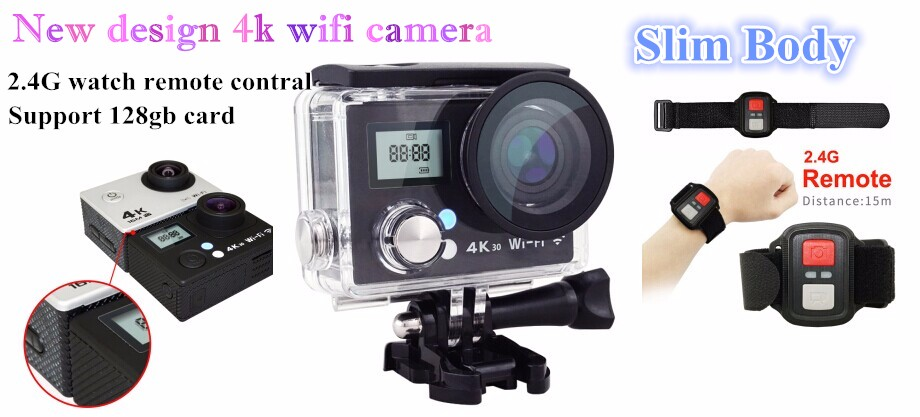 Dual screen XDV 4K WiFi Ultra HD Sport DV helmet camera 1080p full hd 40M Waterproof action cam outdoor