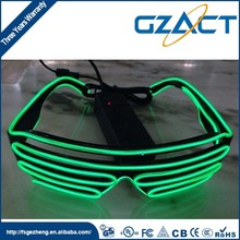 Event Festive party El wire product glowing led shutter glasses