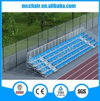 MC-TG05 Demountable Hot-Galvanied Metal Bleacher Seats Grandstand for Sports Games Scaffolding Motorcycle Race Grandstand