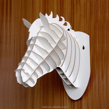 3d hand carved wooden animal heads wood carving horse head