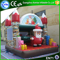 Christmas bounce house commercial bouncy castles used party jumpers for sale inflatable jumping castles