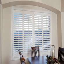 Nordic style windows with built in blinds aluminum shutter