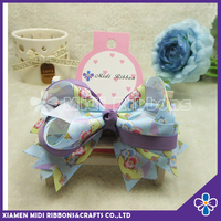 lovely baby girls hair accessories custom hair bow clips design