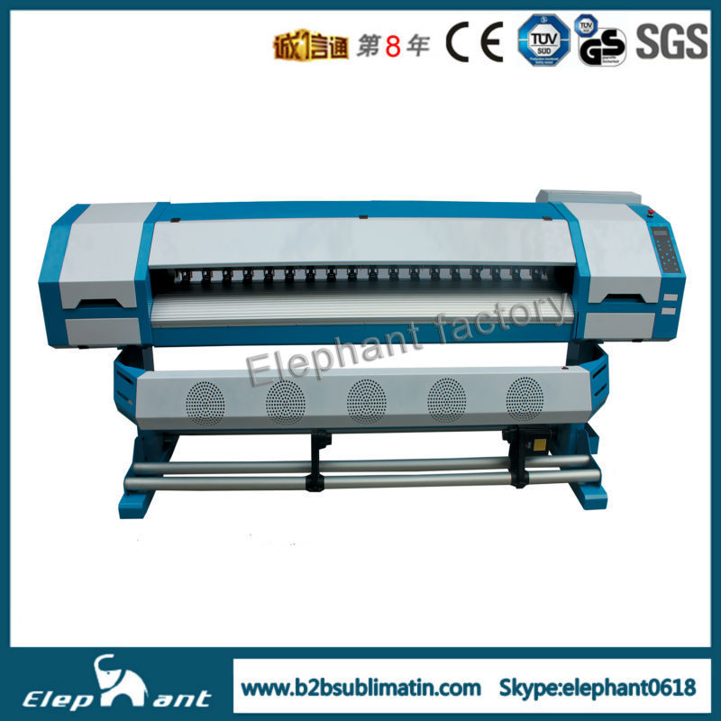 1440dpi Dx5 1.6m inkjet printer sublimation ink with CE and SGS