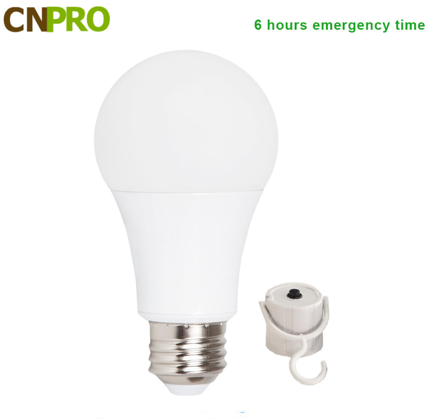 Market hot sell new patent products E26 E27 B22 5W 7W 9W 12W Intelligent emergency rechargeable led bulb with built-in battery