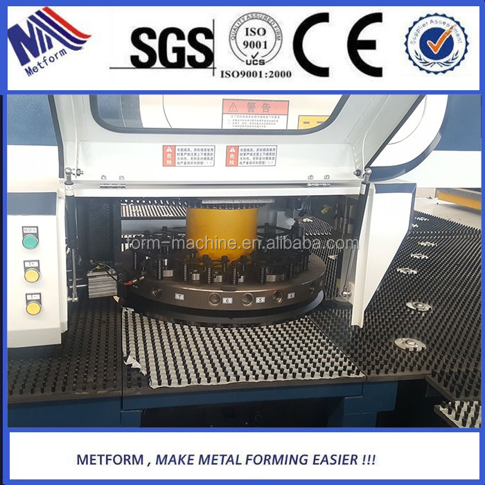 CNC turret punch machine used for solar/ electric water heater cnc punching machine