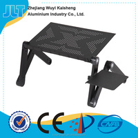 JLT Folding Computer Laptop Notebook Stand Bed TV Tray PC Table Aluminum Alloy Desk