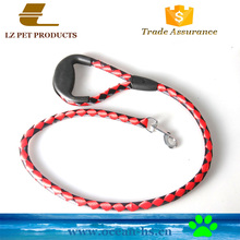Wholesale Cheap Pet Products Round Webbing Nylon Dog Leash