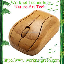 new hot selling cute handmade craft bamboo computer mouse