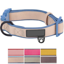 Custom Soft Classic Neoprene Padded Pet Dog Collar for Different Size Dog