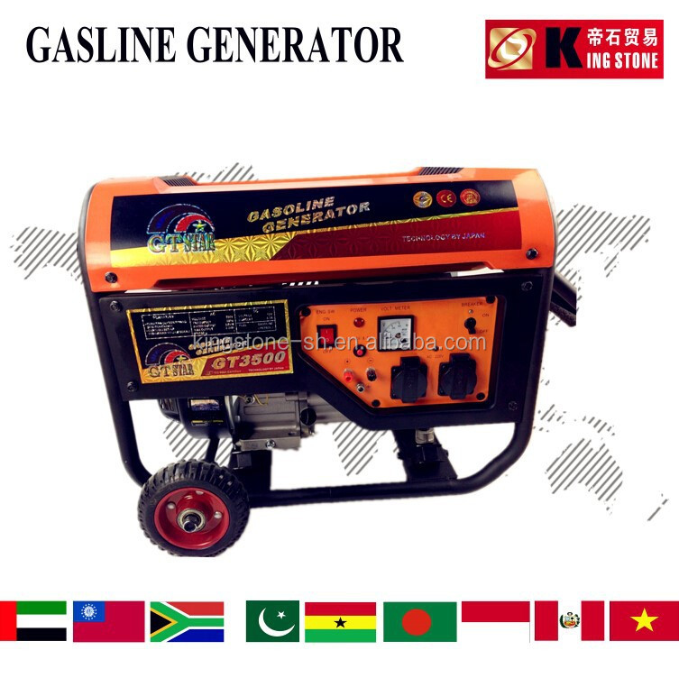 Electrical Portable Powerful Gasoline Generators Sets