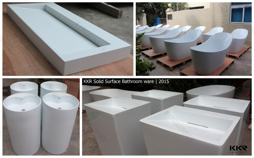 Solid Surface Bathtub , Freestanding Bathtubs , Bathroom Bathtubs
