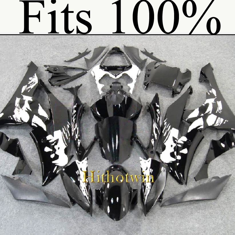 Fits 100%!! INJ Fairing 2008 2009 2010 2011 2012 YZFR6 For yamaha woman pattern design Fairing YZF R6 2008 2012 2009 2011