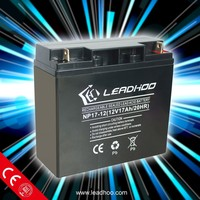 rechargeable battery 12v 17ah,small12v small rechargeable battery