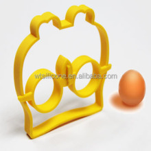 Newest animal shape silicone fried egg form/mould