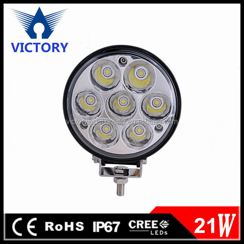 4.5 Inch 12V 24V Super Bright Off road 21W LED Truck Tractor Machine Work Light