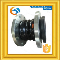 trade assurance maintenance forging double sphere flanged rubber expansion joints with CE