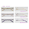 Titanium Rimless Glasses Frame For Girls