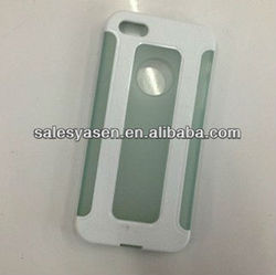 Tpu pc bumper case for iphone 5 forsted matte