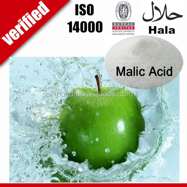 Used in candy and chewing Food & Flavor Additives malic acid food grade