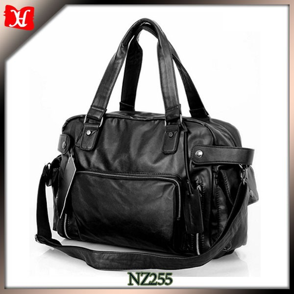 Real leather holdall bag for men leather travel holdall/duffle/traveling bag Overnight Duffle Sports
