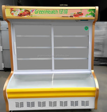 counters freezer and chiller use in the hotel/restaurant or supermatket display the frozen food/vegetable