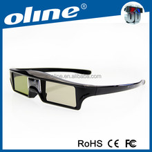 Newest OLINE DLP-LINK KX-30 with high contrast active imax 3d glasses