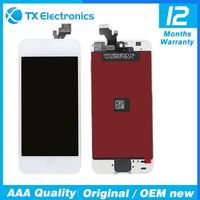 hot selling for iphone 5 lcd screen display, lcd and digitizer assembly for iphone 5g parts